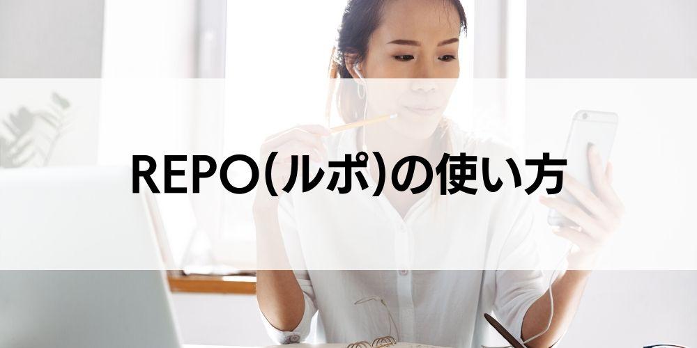 REPO(ルポ)の使い方